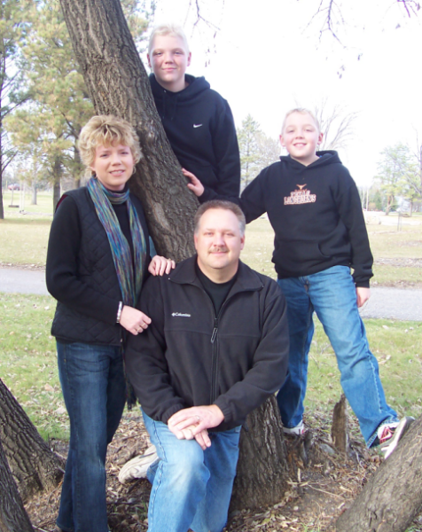 Roger Krause President and Family picture